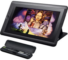 Wacom cintiq DTK -1301 13 HD Pen Tablet Creatif Display Monitor - hitam