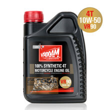 Vrooam Vr90 - 4T Motorcycle Engine Oil 10W50 1L 100% Syn