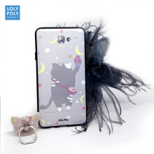 LOLYPOLY CASING + IRING CUTE DESIGN CASE OPPO F1 S