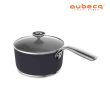 Aubecq Saucepan 2ply with cover 18cm/20cm-A119450/A119460
