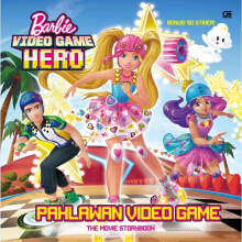 Barbie Video Game Hero: Pahlawan Video Game - The Movie Storybook - Mattel