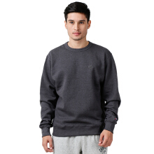 CHAMPION Powerblend Fleece Crew - Granite Heather