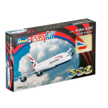 REVELL Airbus A380 British Airways - Plastic Model - Multicolor