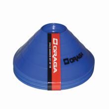 Alat Latihan Sepakbola - Space Marker 2 Inch Set Of 10 Biru Blue
