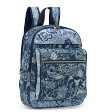 SAKROOTS Cargo Backpack in Denim Peace