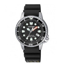 CITIZEN Promaster Diving Eco Drive Watch - Black Rubber Strap/Black Dial 34mm Ladies [EP6050-17E]