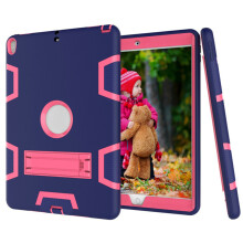 BESSKY Shock Hybrid Case With Stand Cover Case for iPad Pro 10.5inch 2017_ Multicolor