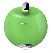 SHARP Apple Rice Cooker 0.8L KS-P8MY-GR - Hijau
