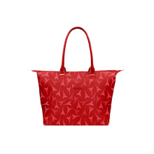 Lipault Lady Plume Tote Bag M Eiffel Tower Ruby