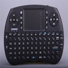 BESSKY  KP-810-21BTL Mini Bluetooth Keyboard Mouse Touchpad for PC Laptop Tablet _ Black
