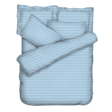 THE LUXE Bedcover Set - Sky Blue / 180 x 200 cm