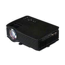 Portable UC36 1080P HD Home Theater 3D Cinema HDMI USB Digital LED Projector Black US