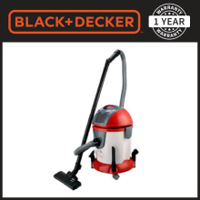 Black+Decker Wet & Dry Vacuum Cleaner WV1400-B5 Red