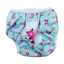 Swimava SWM410 French Flower Swimming Diaper - Blue