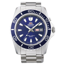 Orient Mako XL Automatic Dive Watch Blue Dial Stainless Steel [FEM75002D] Silver