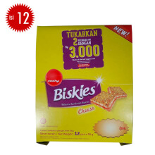 BISKIES Cheese Box 36 gr x 12 pcs