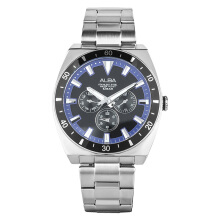 Alba Man Black Dial Stainless Steel Watch [AP6521X1] Silver