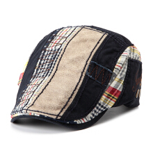 Zanzea Men Women Cotton Washed Beret Hat Buckle Adjustable Paper Boy Newsboy Cabbie Golf Gentleman Cap