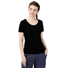 STYLEBASICS Scoopneck T-Shirt 1622 - Black