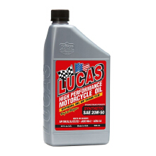 LUCAS OIL Synthetic SAE 20W-50 Oli Motor - 946 ml