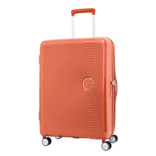American Tourister Koper Hard Case Curio Spinner 80/30 EXP TSA Spicy peach