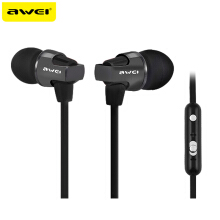 OAC-AWEI ES-860HI Super Bass Sound Headphones Stereo Earphones Metal Headset In-Ear fone de ouvido For Phones