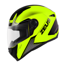 ZEUS HELMET ZS-811 AL6 - Helm Full Face - Fluo Yellow/Black