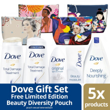 DOVE Beauty Diversity Pouch (Isi 5 Varian Dove)