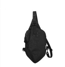 Ins I-211 Leisure shoulder&riding bag(Small Size 16*6*24CM)-Black