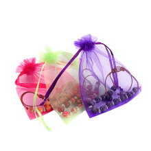 BESSKY Jewelry Organza Bags Packaging Bags Wedding Party Decorations Favors _ Multicolor