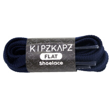 KIPZKAPZ FS49 Flat Shoelace - Navy [8mm]