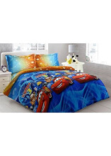 Sprei Bantal 2 Vito Disperse 180x200cm Cars 3 - Blue