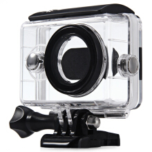 40M Waterproof Cover Case for Xiaomi Yi Action Sport Camera with Optical Film Surface Black