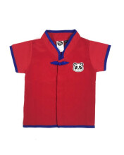 HEY! BABY Matthew Cheongsam Shirt - Red