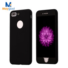 Maygool Phone Cases 360 Degree TPU For iphone 7 iphone 7plus Soft Silicone Mobile Covers Multi Sugar Colors For apple iphone7 7P