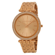 Michael Kors Darci Rose Gold Dial Rose Gold Stainless Bracelet Watch [MK3192]