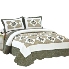 VS Bedcover Shabby SemiPatchwork 230x250cm - Green