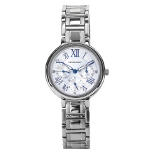 SWISS NAVY Ladies Silver Dial Stainless Steel Strap [8346LSSWH]