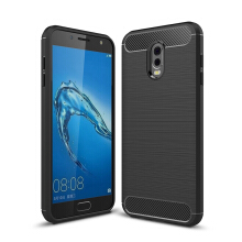 Smatton Case hp SAMSUNG Galaxy J7 plus Luxury Shockproof Case Carbon Fiber For Soft TPU Full Protect Ultra Thin Case shell