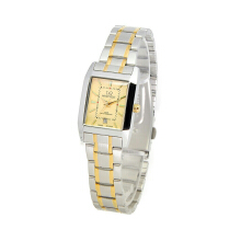 MIRAGE Watch Ladies 7715L Silver Gold pK - Gold