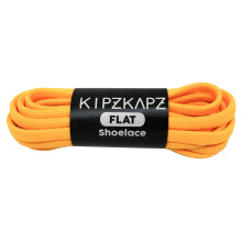 KIPZKAPZ FS19 Flat Shoelace - Neon Orange [6mm]