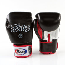 FAIRTEX Boxing Gloves STD BlackWhiteRed
