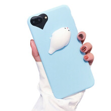 BESSKY Squishy 3D Animal Cat Panda Seal Soft TPU Gel Case Cover For iPhone 7 Plus 5.5 inch_