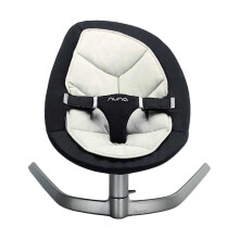Nuna Leaf Baby Bouncer Twilight - Black White