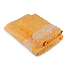 TERRY PALMER Premium Towel Bath & Travel 500g Set of 2 - Yellow LP9705M0I0-50NN-NYO