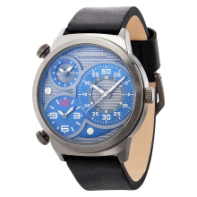 Police Elapid Blue dial Black Leather Strap [PL.14542JSU/13]