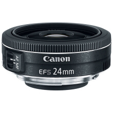 CANON EF-S 24mm f/2.8 STM - Black