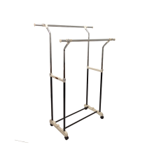 MAMI1 Garment Rack Double - 85-136.5x55x104-108.5 cm/ M-326R