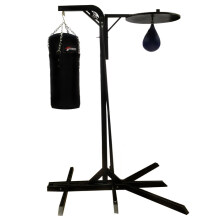 Stamina Boxing Tower Two Ways With Samsak S and Speedball Black
