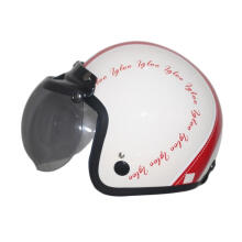IGLOO Clasic 2 White Red Helmet Half Face
